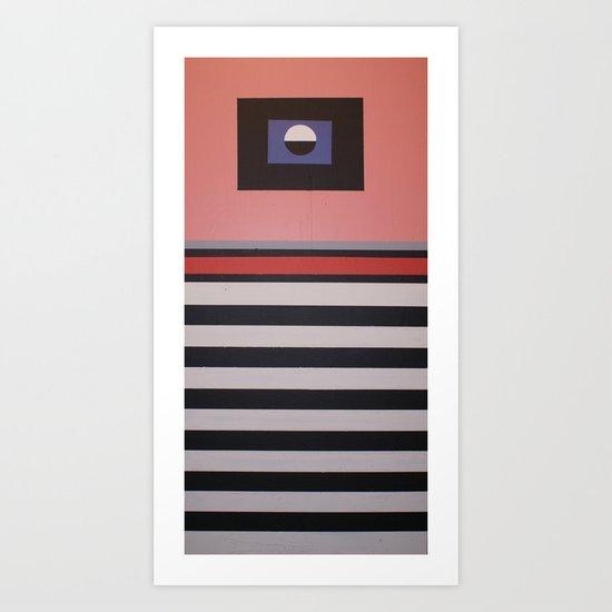 THE LENTICULAR GRAVITATION Art Print