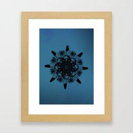 Cirsium 'Taurus' Framed Art Print