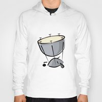 drum Hoodies featuring Timpani Drum by shopaholic chick
