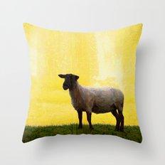 Holy sheep Throw Pillow