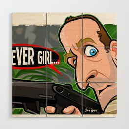 Clever Girl Wood Wall Art