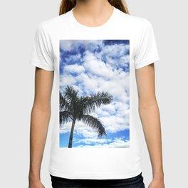 Blue Blue Palm Sky T-shirt
