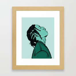 ASAP ROCKY Framed Art Print