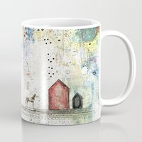 pony Mugs featuring Pony Up by Sarah Ogren