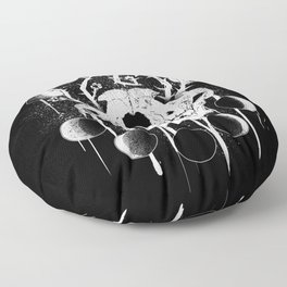 Wings of Sin Collaboration Floor Pillow