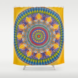 Summer in KB/Juicy/The Yellow One Shower Curtain