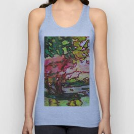 Cherry Blossom Time Unisex Tank Top