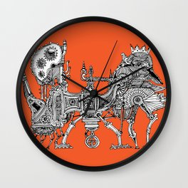 Brewerpoddle Wall Clock