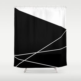 Moonokrom no 20 Shower Curtain