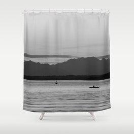 Kayak Dream Shower Curtain