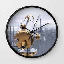 A view of Paris Wall Clock