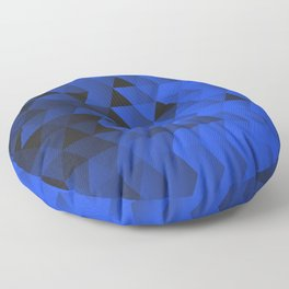 Triangle Waves Floor Pillow
