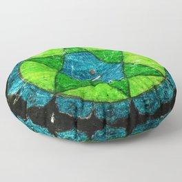 Anahata, Anahata-puri or padma-sundara Floor Pillow
