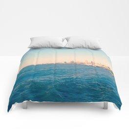 Cleveland Skyline  Comforters