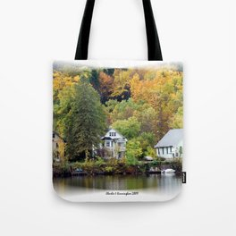Along the Gatineau Tote Bag
