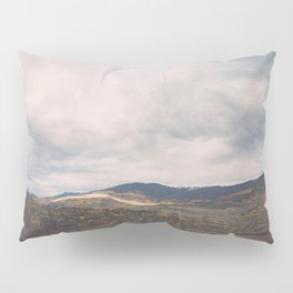 Horse Pasture on the side of a mountain in Colorado Pillow Sham