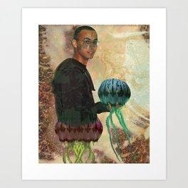 Jelly Man Art Print