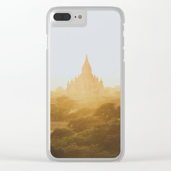 Bagan Temples II Clear iPhone Case