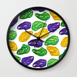 Summer Oysters 2 Wall Clock
