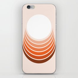 Red Rock Crescent iPhone Skin
