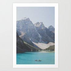 Moraine Lake Art Print
