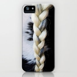 Equine Braid iPhone Case