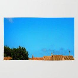 Sardinian little village Rug