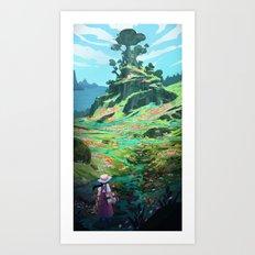 Summer Memories Art Print