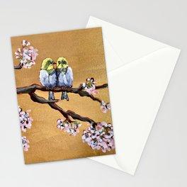 Cherry Blossom Chicks Stationery Cards