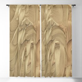 Princess of Staves Blackout Curtain