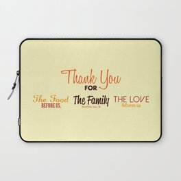 Thanksgiving Grace | Fall Colors Laptop Sleeve