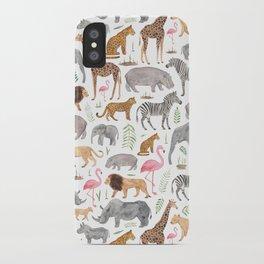 Safari Animals iPhone Case