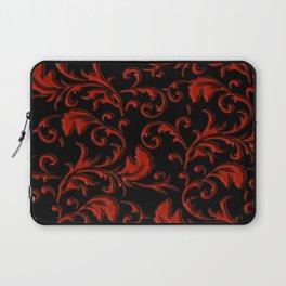Vampyr Royalty (black and red) Laptop Sleeve