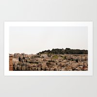 israel Art Prints featuring Israel 12 by SigChi