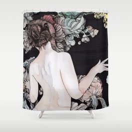 Winter Wither Shower Curtain