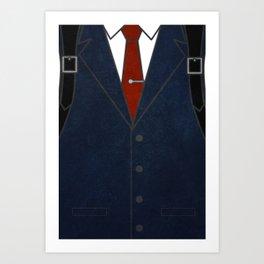 Detective Oda Art Print