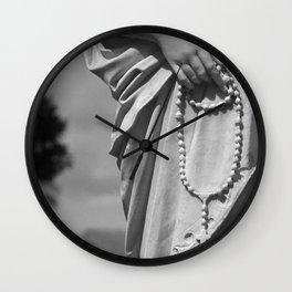 Hands That Pray Wall Clock