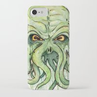 cthulhu iPhone & iPod Cases featuring Cthulhu by Olechka