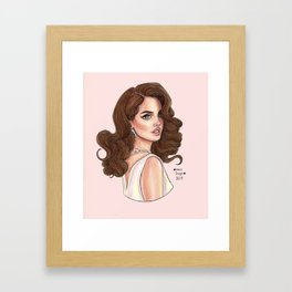 Rose Lana Framed Art Print