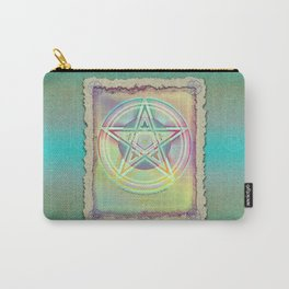 Rainbow Ghosted Pentacle Carry-All Pouch