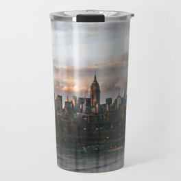 Skyline Maze Travel Mug