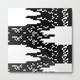 ASCII All Over 06051311 Metal Print