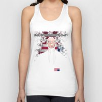 frank underwood Tank Tops featuring frank underwood by skymerol