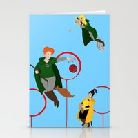 quidditch Stationery Cards featuring Quidditch Sisters  by Katá Mart