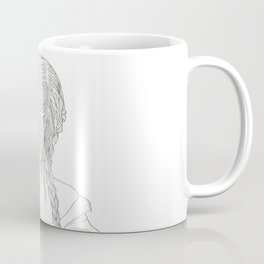 Woman with braids Coffee Mug