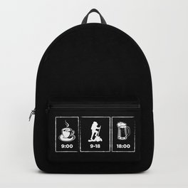 Funny Hiking | Hike Hiker Mountains Gift Idea Backpack