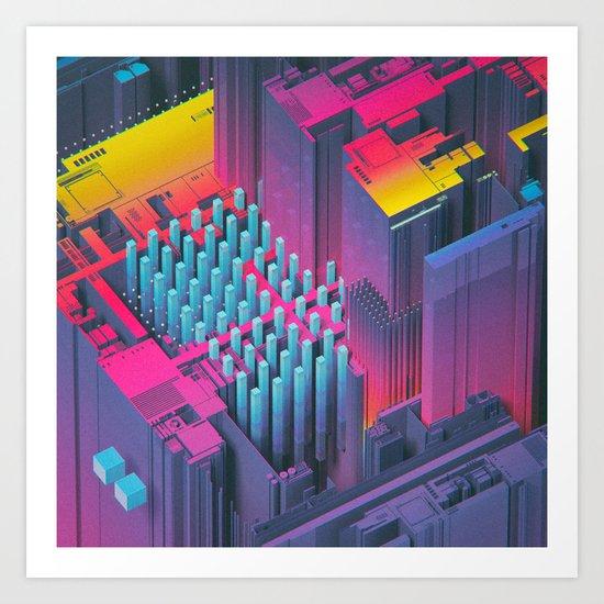 RAINBOWSHIT (everyday 01.17.16) Art Print