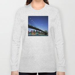 New York City Magic: Brooklyn Bridge Long Sleeve T-shirt