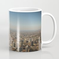 chicago Mugs featuring Chicago  by Ashley Dru