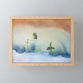 Hello dear friend Framed Mini Art Print